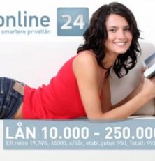 Online24 forbrukslån